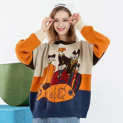 Fish Dine Sweater