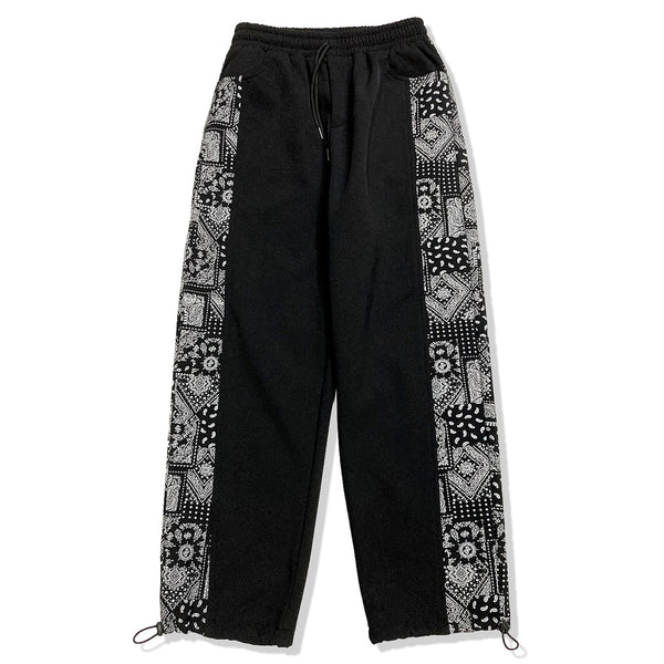 Faded Paisley Pants