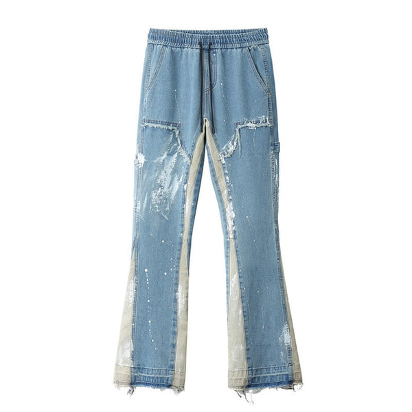 Extra Paint Denim Pants