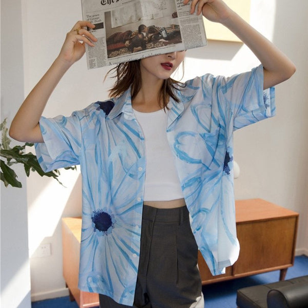 Blue Daisy Shirt