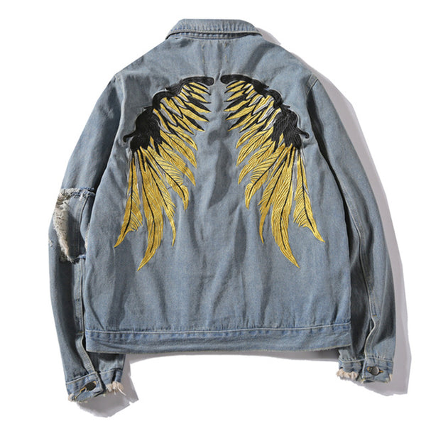 Flyin' Wings Denim Jacket