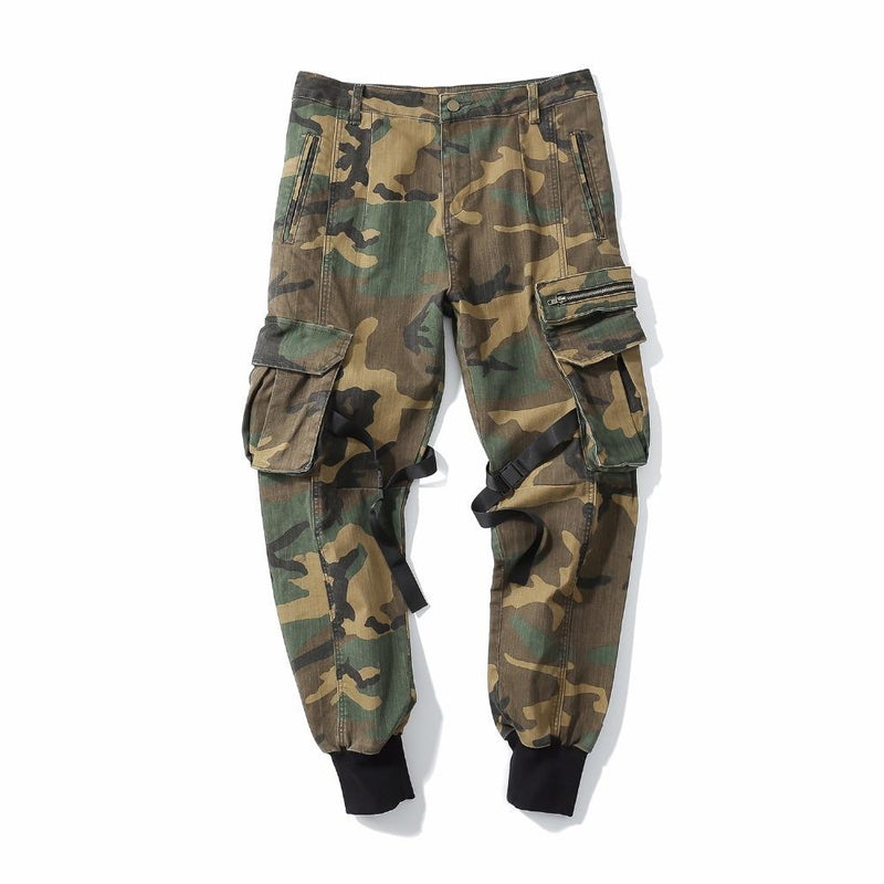 camouflage tactical jogger pants