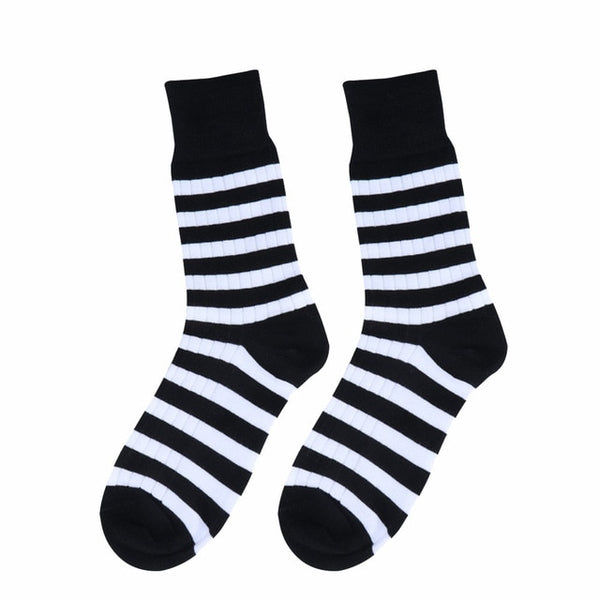 Korean Striped Socks