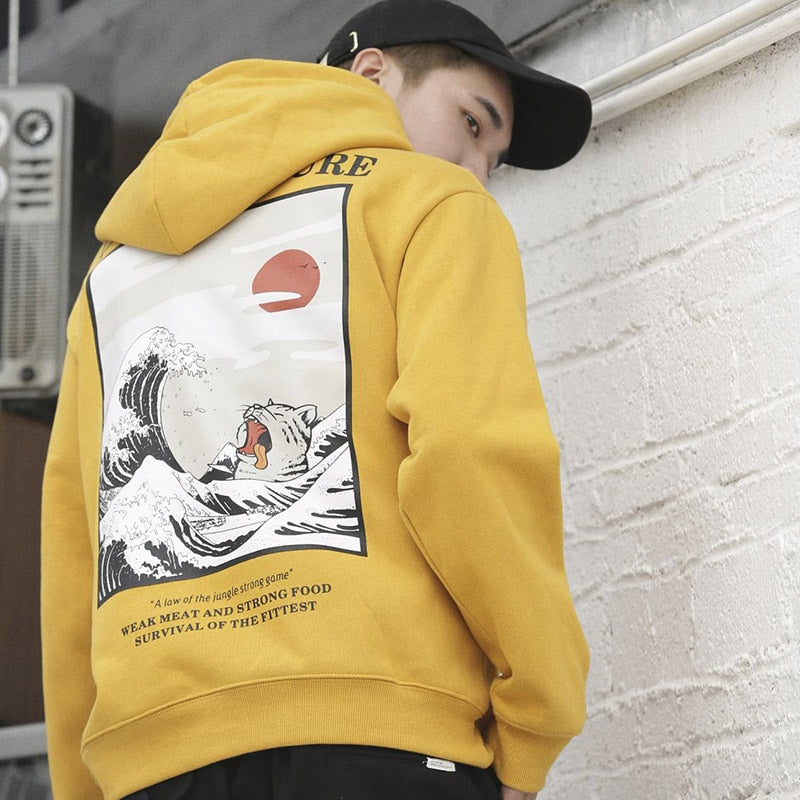Cats Can't Swim Hoodie