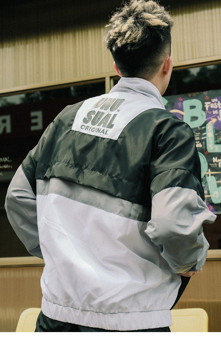 Unusual 90s Windbreaker