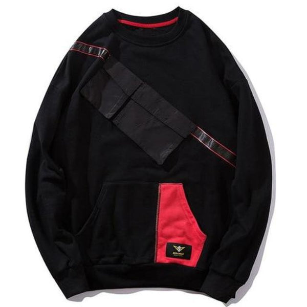 Black Homeless Pullover