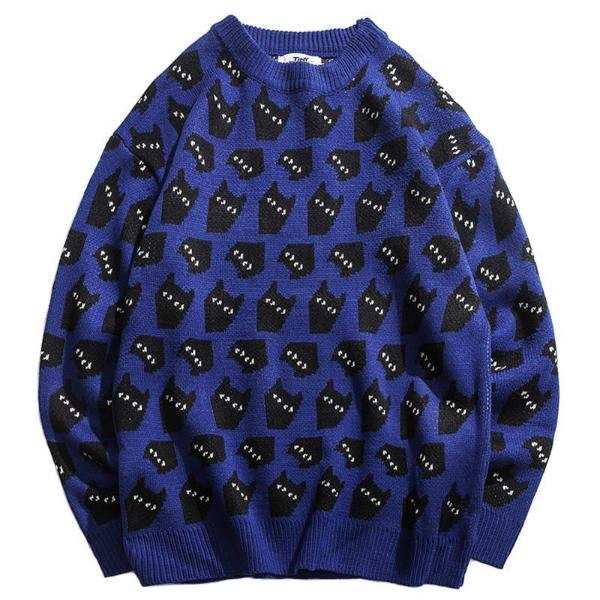 Harajuku Cat Sweater