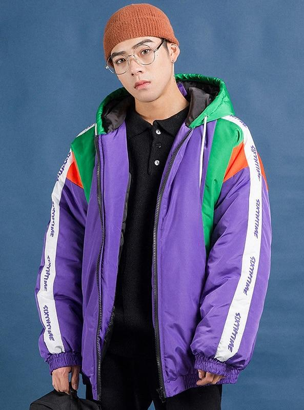 Purple Sixth Time Parka