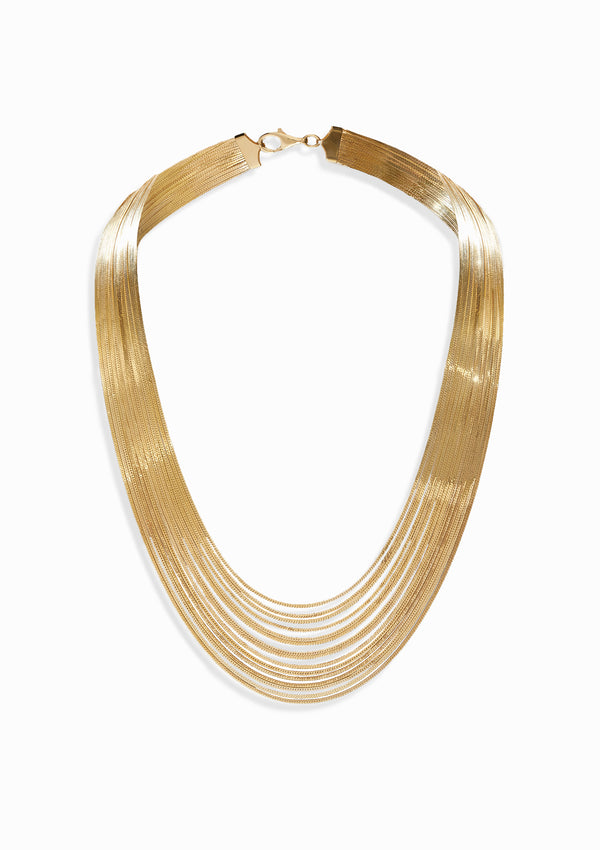 Haus of Dietrich Heritage Silk Royal Yellow Gold Necklace