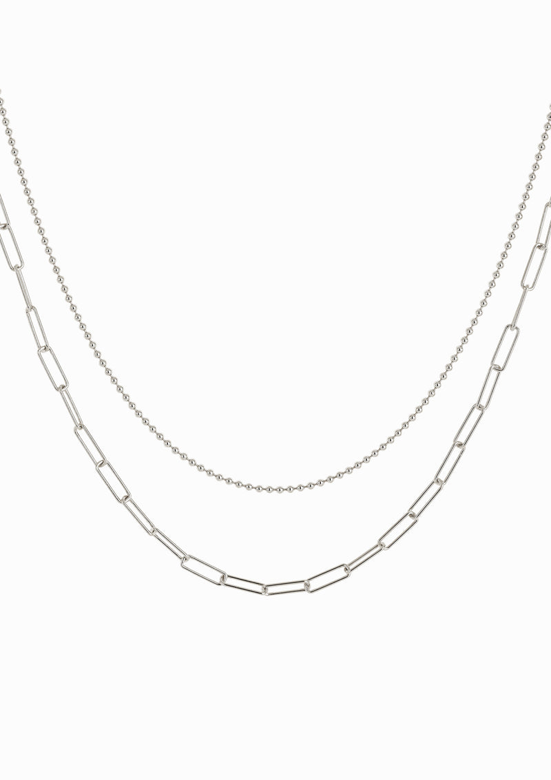 Haus of Dietrich Milano N°1 Layering Necklace Rhodium