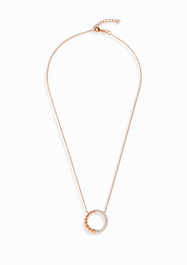 Haus of Dietrich Milano Pearl Rose Gold Necklace