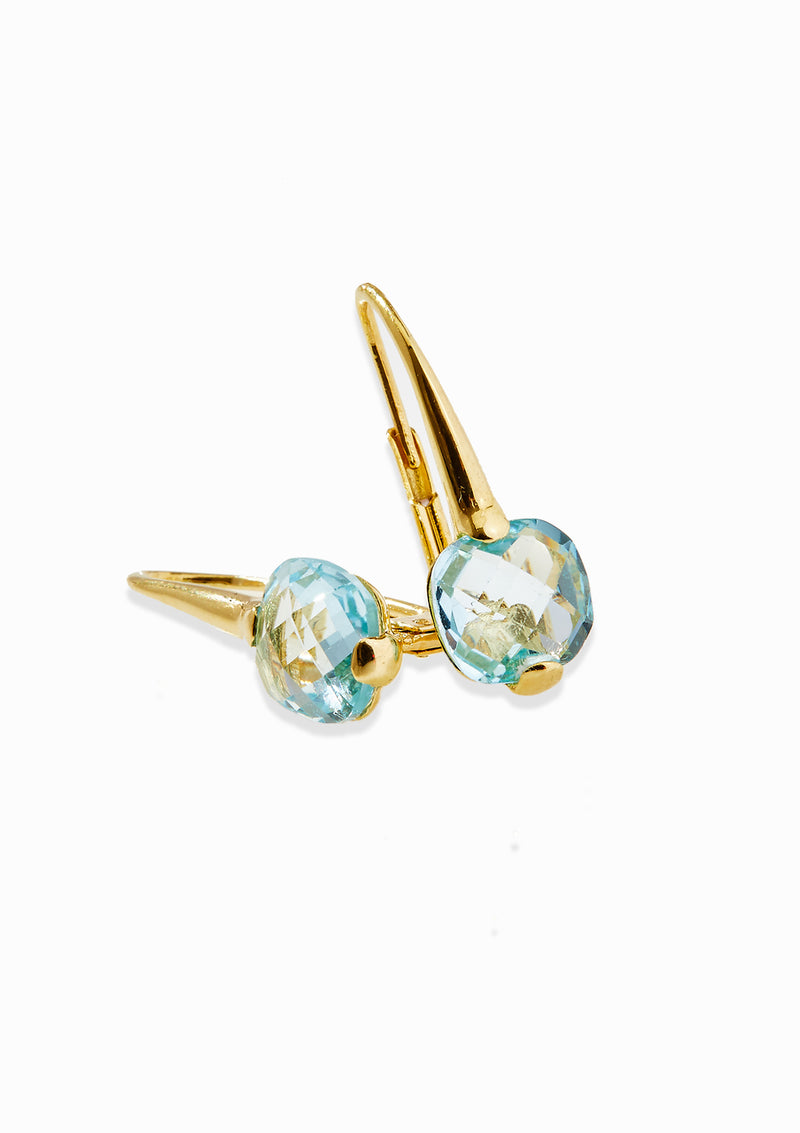 Haus of Dietrich Venezia Blue Topaz Earrings