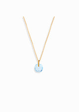 Haus of Dietrich Venezia Blue Topaz Necklace