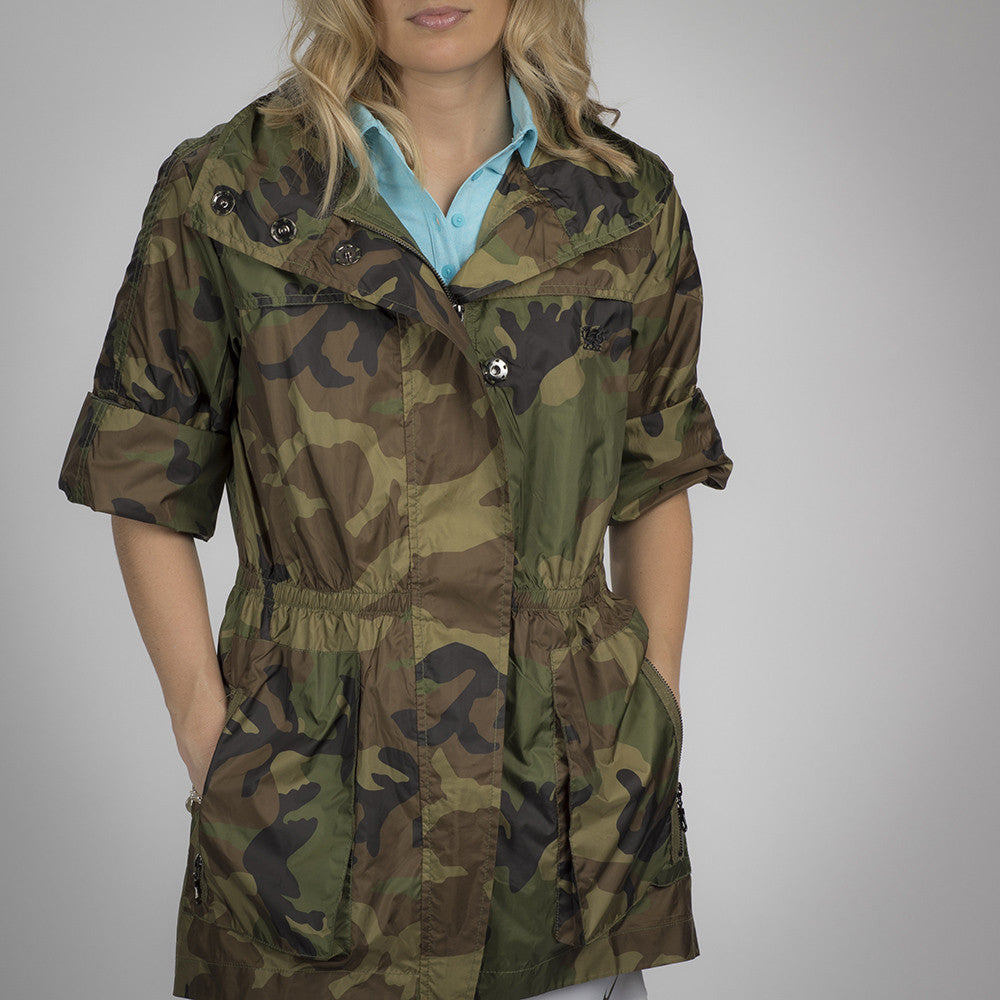 MyAnorak Women's Short Sleeve Anorak