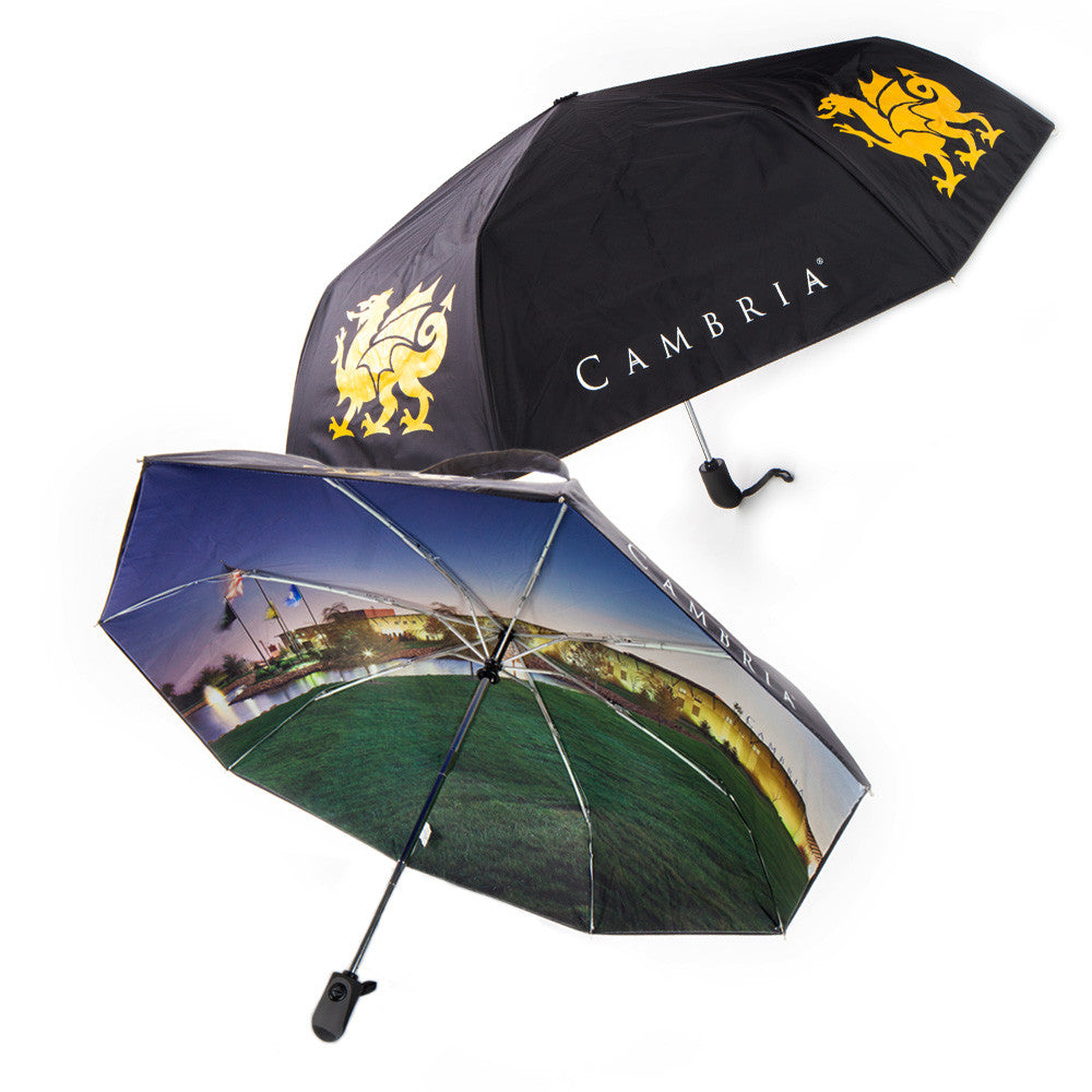 Cambria® Folding Umbrella