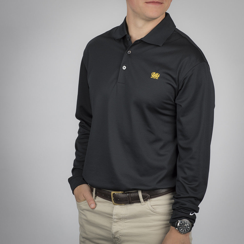 Nike Men's Golf Tech Dri-FIT Long Sleeve Polo