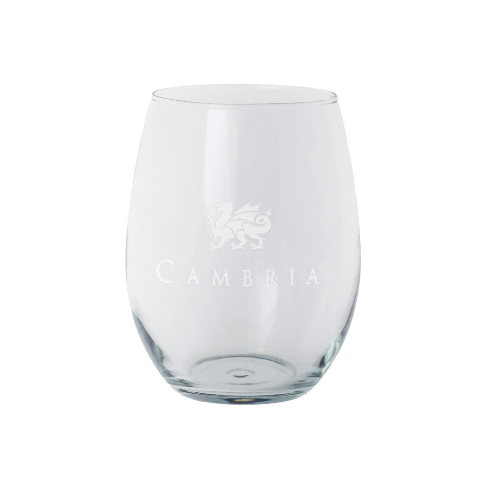 Trendsetter Stemless Wine Glass