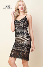 Load image into Gallery viewer, LACE MINI DRESS