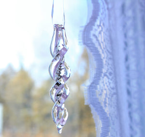Frozen In Time Icicle Suncatchers