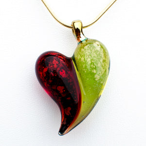 2-Color Hearts Pendant