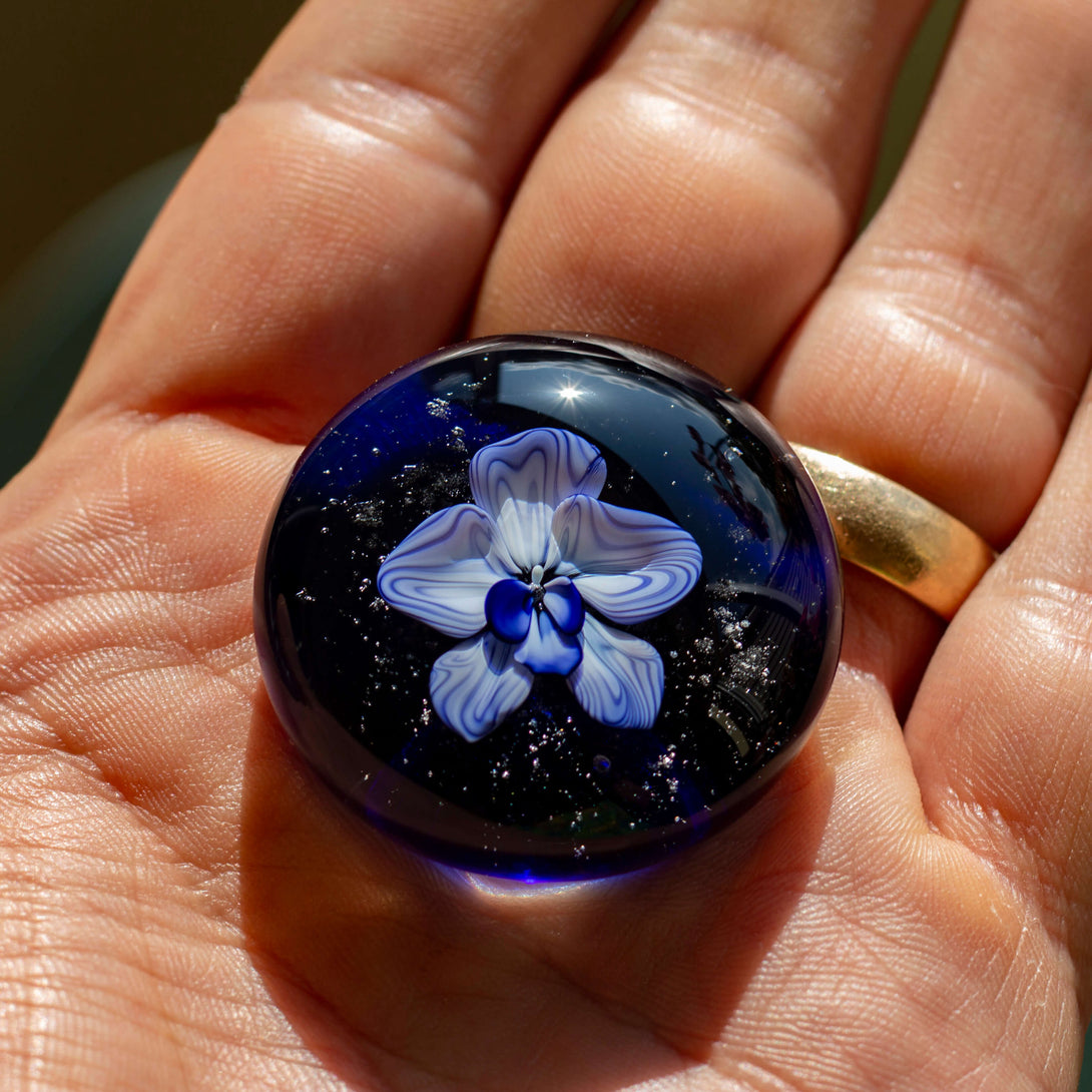Orchid Cremation Ash Touchstone