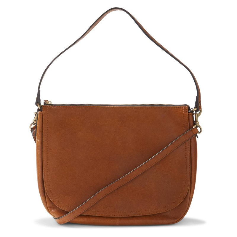 Ex-Marks & Spencer - M&S Collection Leather Saddle Shoulder Bag - T015020E