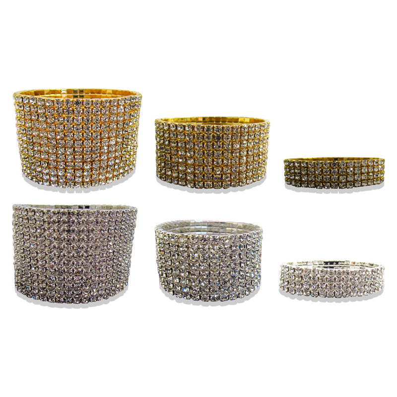Diamante Stretch Bracelet