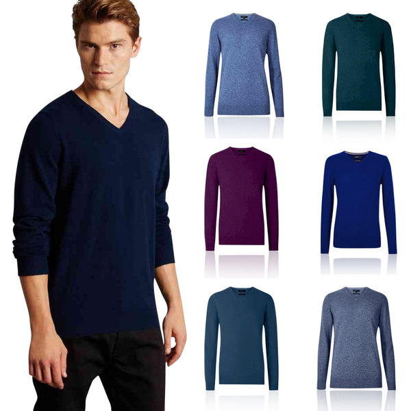 M&S Autograph Pure Cashmere V-Neck Jumper