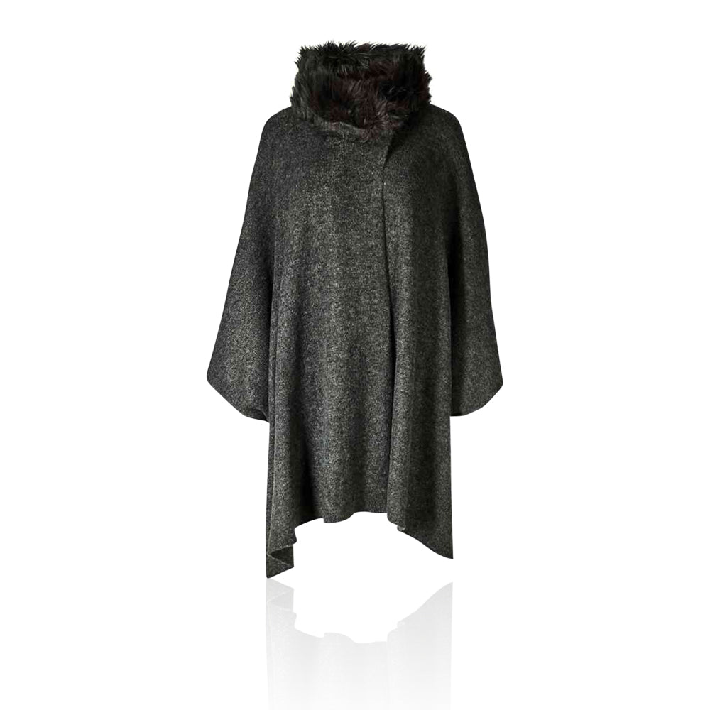 Marks & Spencer - M&S Collection Faux Fur Collar Knitted Wrap - T017164J