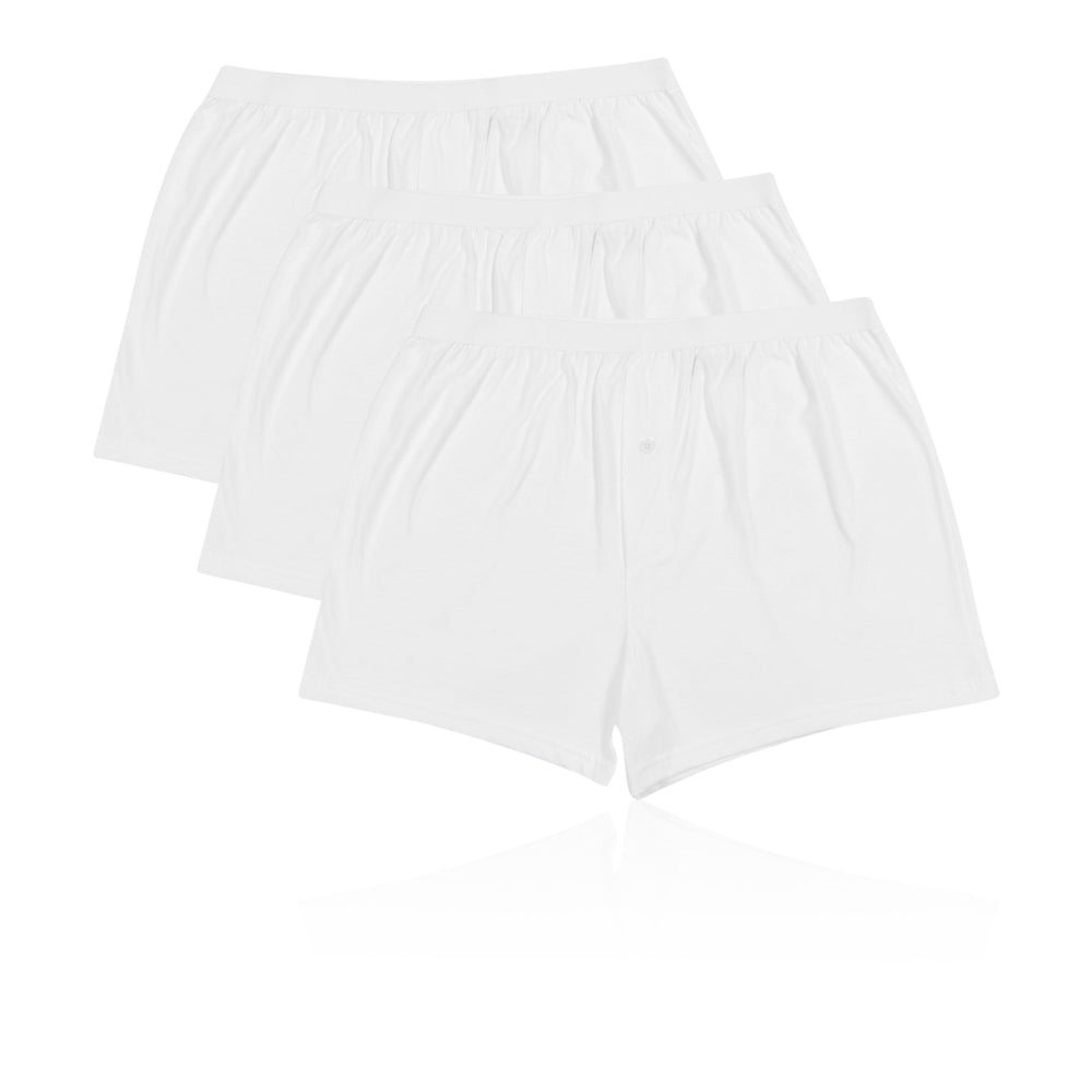 M&S Collection 3 Pack Cotton Cool & Fresh™ Jersey Boxers