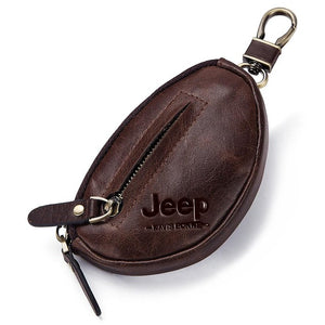 Open image in slideshow, Jeep Coin Personalized Purse Genuine Leather Wallet
