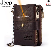 Load image into Gallery viewer, Jeep Personalised Mens/Women Wallet
