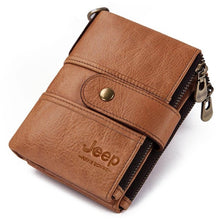 Load image into Gallery viewer, Kavi`s Jeep Adele 100% Cow Genuine Personalised Men/Women Wallet