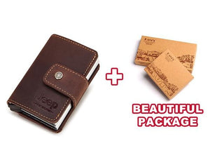 Open image in slideshow, Jeep Personalized RFID Leather Credit Card Holder