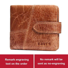 Load image into Gallery viewer, Kavi`s Genuine Leather Wallet