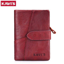 Load image into Gallery viewer, Kavi`s Genuine Leather Women Wallet