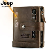 Load image into Gallery viewer, Jeep 100% Genuine Leather Men