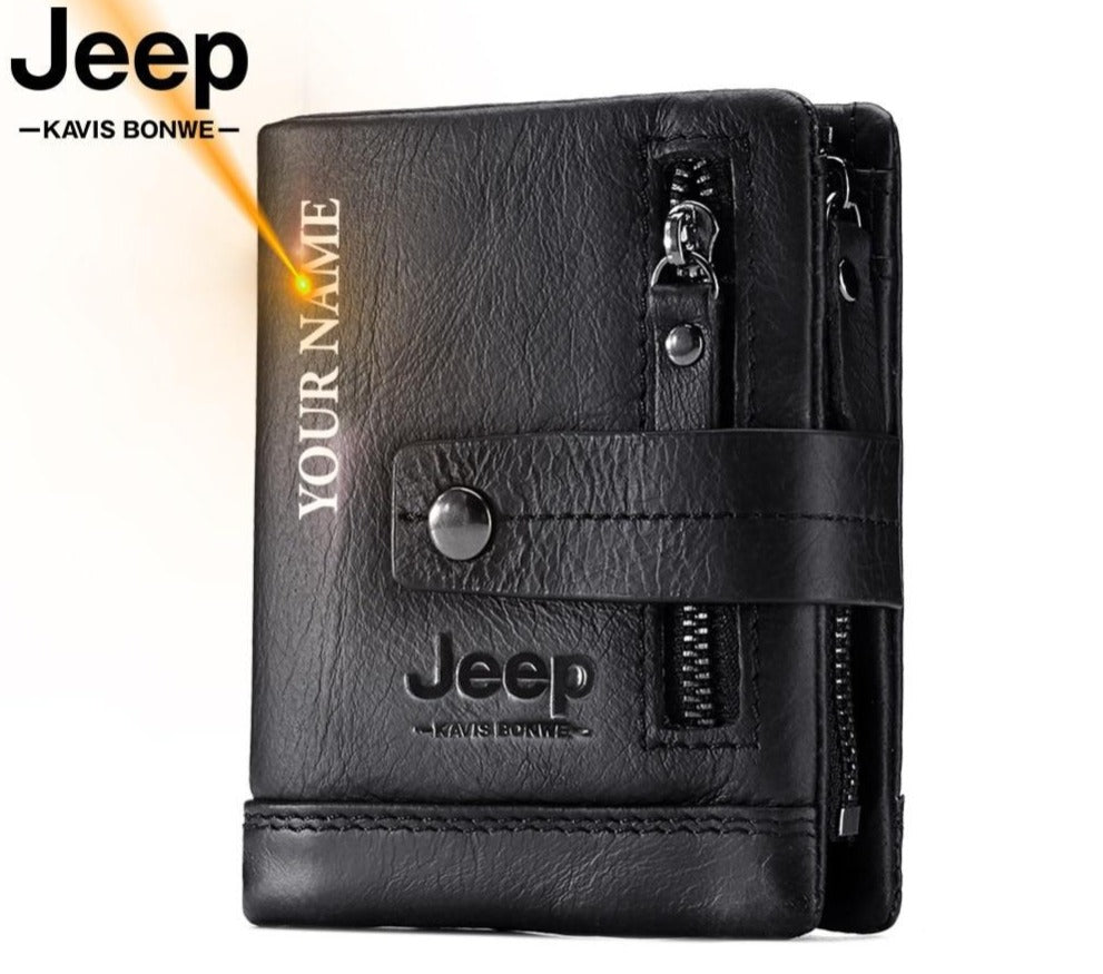 Jeep Custom Leather Wallet