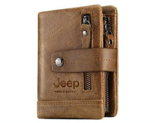 Load image into Gallery viewer, Jeep 100% Leather Custom Engraved Men's/Women`s Wallet