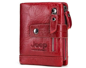 Jeep 100% Genuine Leather Men
