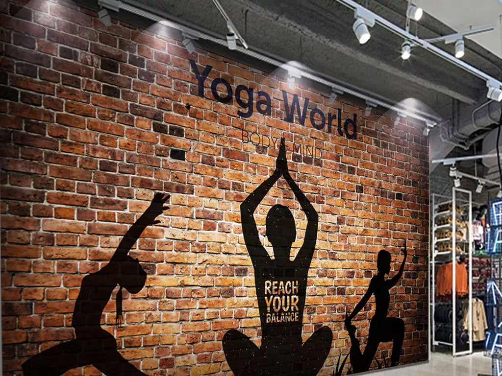 Custom Your Own Wallpaper Murals For Yoga Business
