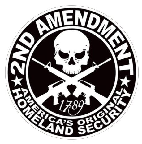 2nd Amendment Right to Bare Arms Decal- 5