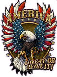America Love It or Leave It Decal- 6"