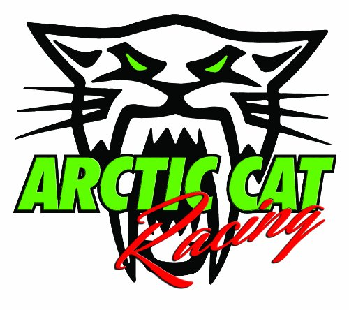 Arctic Cat Racing Decal - | Nostalgia Decals Online vinyl graphics for snowmobiles, vinyl snowmobile stickers, die cut vinyl jetski graphics