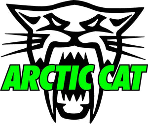 "Arctic Cat Version 2 Decal - 5"" x 5"" 
