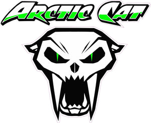 "Arctic Cat Version 3 Decal - 5"" x 5"" 
