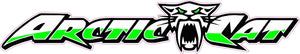 "Arctic Cat Version 4 Decal - 7"" x 1.3"" 