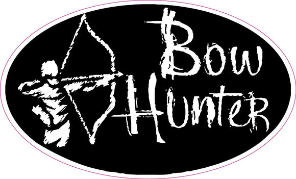 Bow Hunter Decal - | Nostalgia Decals Online retro car decals, old school vinyl stickers for cars, racing graphics for cars, car decals for girls