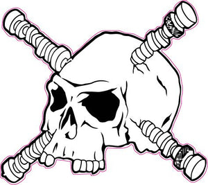 Camshaft Skull Decal - | Nostalgia Decals Online retro car decals, old school vinyl stickers for cars, racing graphics for cars, car decals for girls