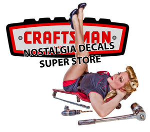"Craftsman Pin up Girl Version 3 5"" - 